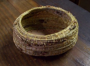 Item #HK016 - Pine Needle Basket Weaving Kit