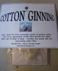 Item #HK001 - Cotton Ginning Kit